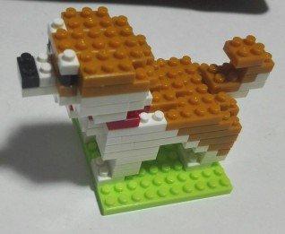 プチブロック柴犬27