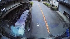 車線はみ出し正面衝突の瞬間 「酒3リットル飲んだ」 福岡