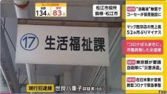 「東京に行ってきた」「コロナをばらまきに来た」市職員脅した女(66)逮捕 島根