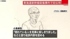 東海道新幹線殺傷 残念にも殺し損ねた