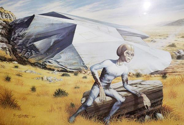 【超怖い話 実話 UFO】ロズウェル事件でUFOが墜落したって本当なの?