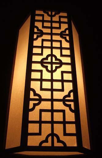 お店の明かり