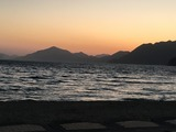 伯方島からの夕景