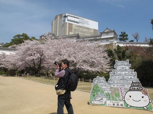 ひろまるひめと姫路城