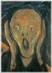 ムンク「叫び」の顔