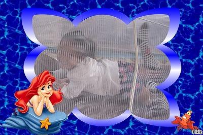 蚊帳の中のじゅりあちゃん