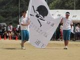 白組の応援旗