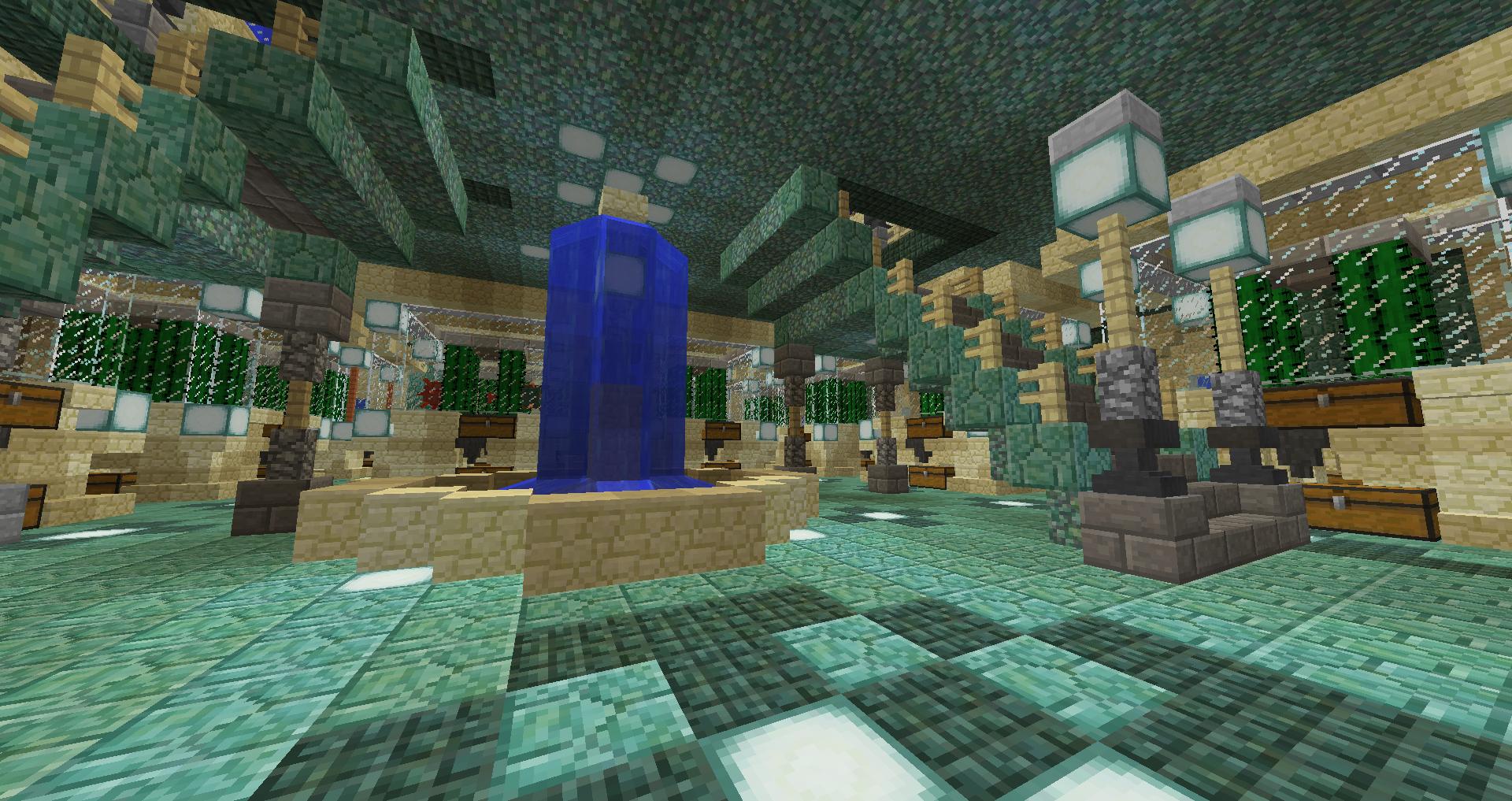 神殿 マイクラ 海底