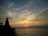 江ノ島夕陽
