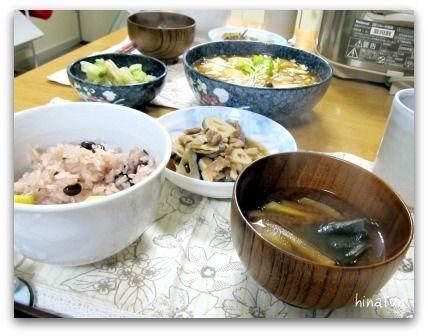 """""""湯豆腐のきのこあん"""" ほっこり和食~♪"""
