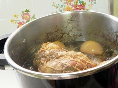泡盛を使ってオースくんde煮豚&煮たまご と、後半は鉄板夜ごはんのこと