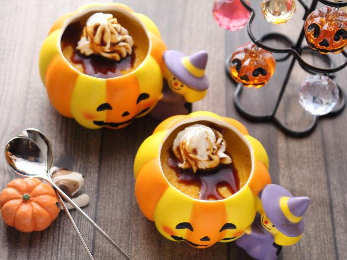 濃厚かぼちゃプリン☆ゼラチン使用。失敗しにくい作り方