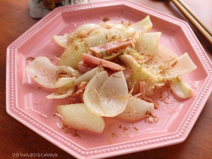 玉ねぎのマヨソテー