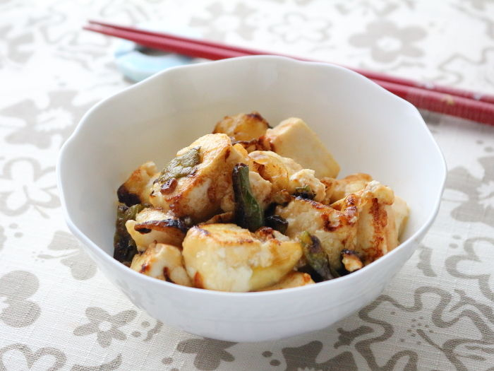"""豆腐とインゲンのポン酢炒め☆後半は""""ごぼうの梅煮""""つくれぽ♪"""