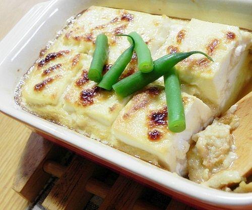 お豆腐の長芋焼き3