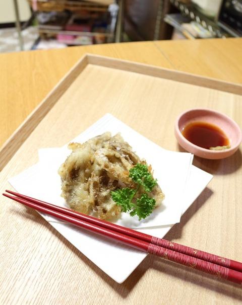 舞茸の天ぷら1