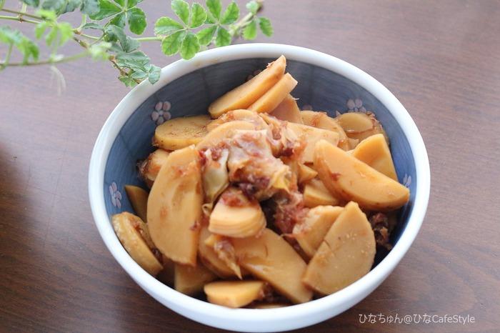 筍の土佐煮【レシピ】