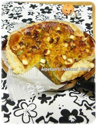ハロウィンレシピ☆南瓜と安納芋の素材の味を楽しむお食事タルト