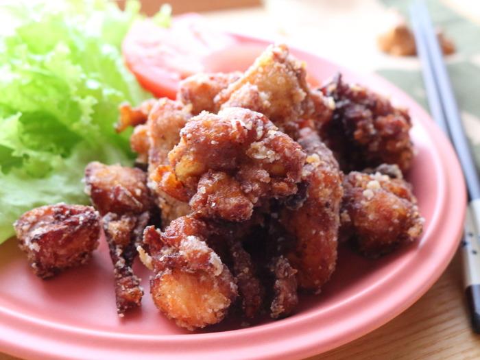 味噌から揚げ☆正月明けはジューシーなお肉が食べたくなりません?