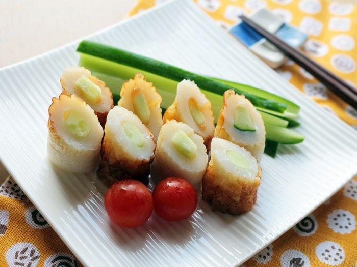 梅味さっぱり!ちくわきゅうり【スパイス大使】☆夏野菜を使った火を使わない節約簡単料理!