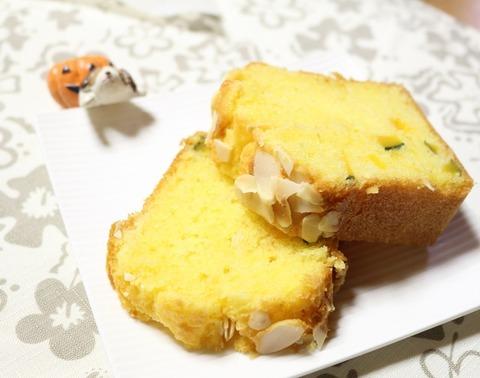 かぼちゃのパウンドケーキ1