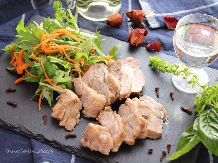 作り置きOK♪豚肉の甘酢煮☆スパイス大使【クローブ】