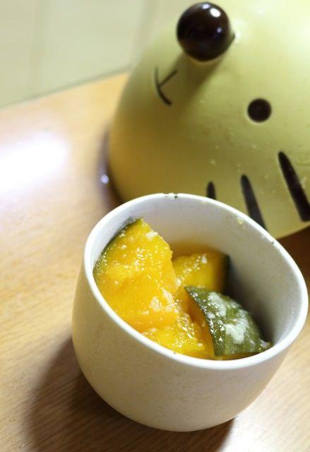 ほくほく塩麹かぼちゃ2
