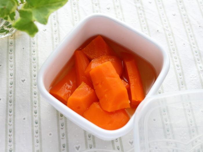 柔らかさが絶妙な「にんじんグラッセ」☆主菜だけじゃない。副菜も圧力鍋で作る!