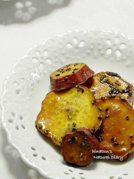 安納芋の甘辛大学芋