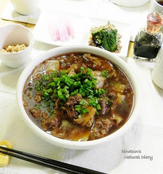 牛肉と白菜の炒め煮