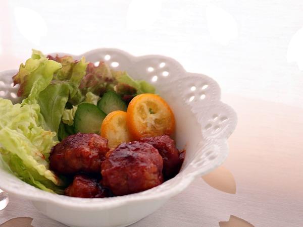 お弁当にもお勧め!お値打ち豚こま切れ肉で作る「豚こまミートボール」
