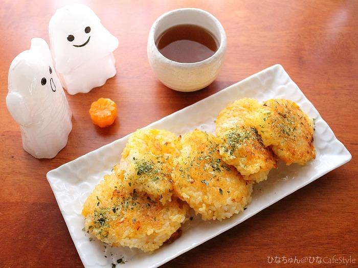 かぼちゃもち☆和風ハロウィンおやつレシピ 今からでも十分作れます╰(*´︶`*)╯