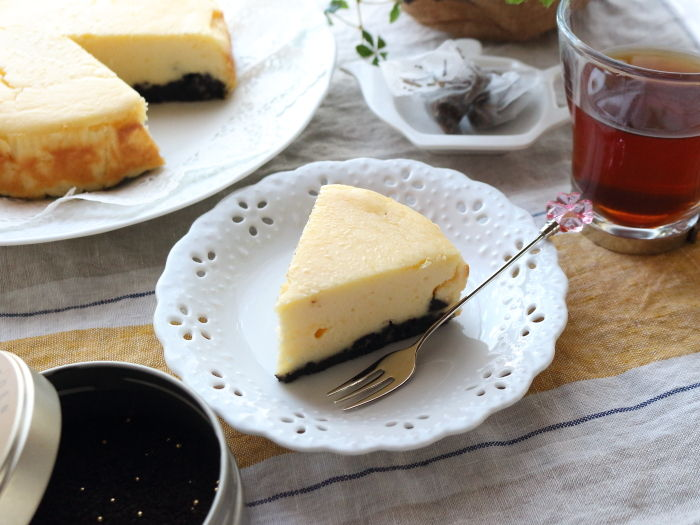 さつまいもチーズケーキ