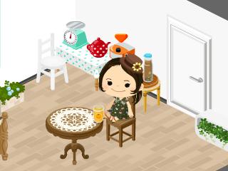 hinatunの!なちゅらる日記-Mokekoさんからオレンジジュース
