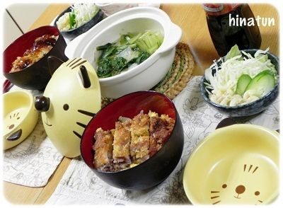 豚小間肉のミルフィーユカツ丼