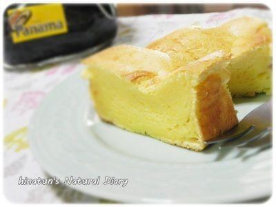 珈琲リキュールを使った大人のスフレチーズケーキ<小春ちゃんつくれぽ>