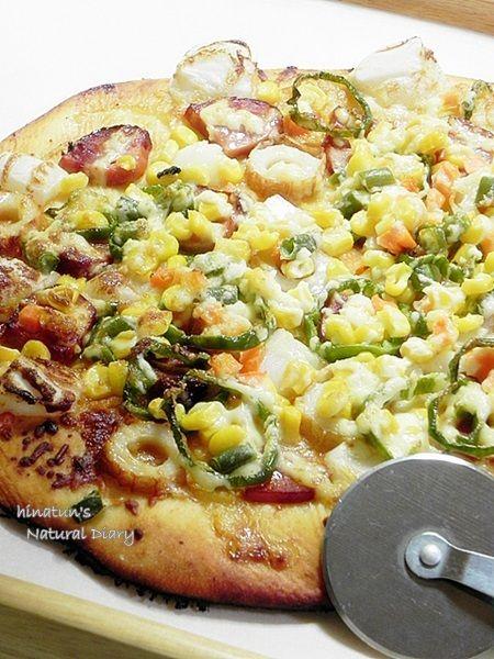 照り焼きおもちピザ
