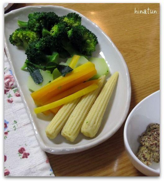 ひなちゅんの!なちゅらる日記-温野菜