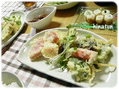 天ぷらに焼き鮭! ここ2日間は和な夜ごはんでした