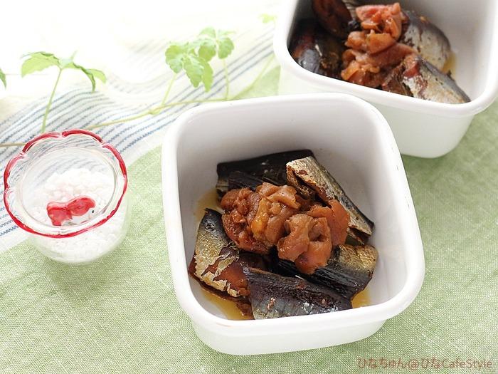 いわしの梅酢煮☆圧力鍋おまかせレシピ