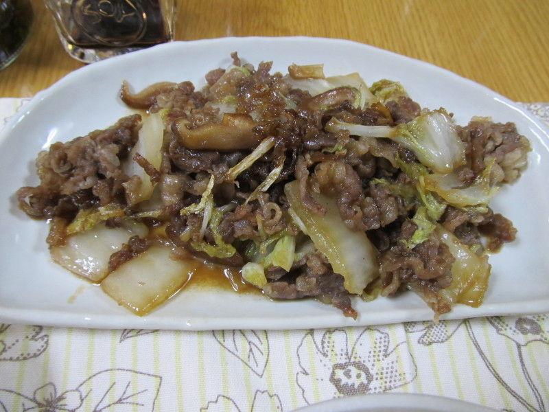 hinatunの!なちゅらる日記-牛肉と白菜の蒸し煮
