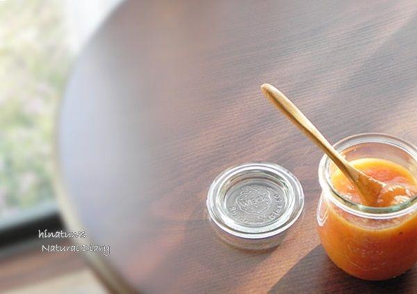 柿のコンフィチュール横