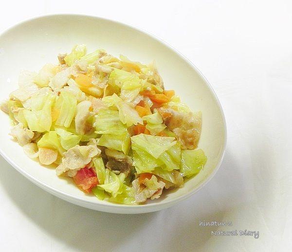 豚バラ肉の野菜炒め