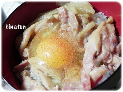 0914鶏の照り焼き丼