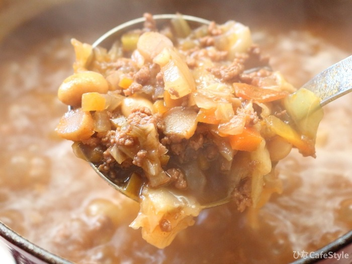 お豆の入ったミートソース☆トマト缶なくてもミートソース作れます!