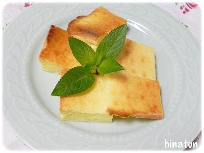 ルクエでちゃちゃっとチーズケーキ