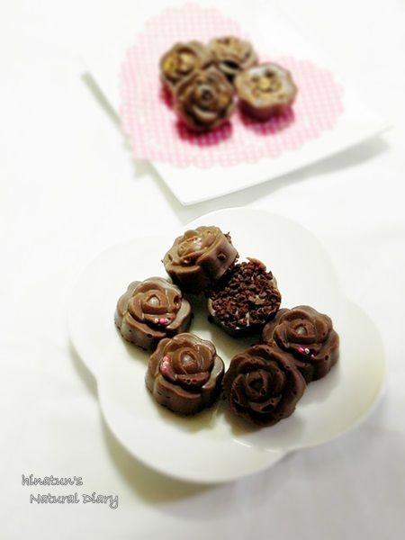 薔薇チョコクッキークランチ