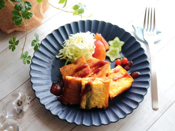 卵焼き用フライパンで作る「アスパラとツナのチーズオムレツ」☆佐賀県産アスパラガス タイアップ企画のお知らせ