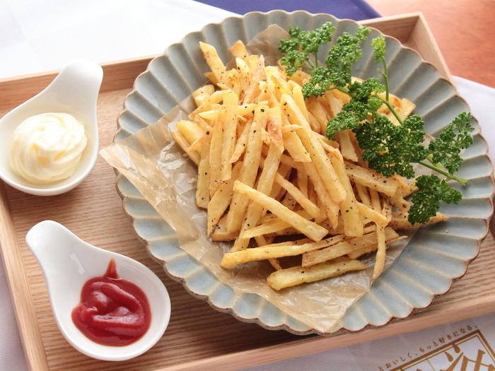 フライドポテト【レシピ】ボーソー米油部