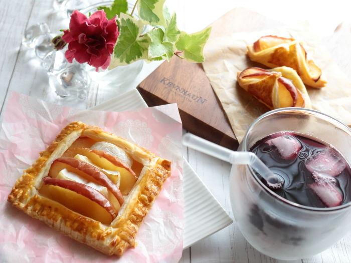 冷凍パイシートで簡単に作ろう!りんごとカマンベールチーズパイ